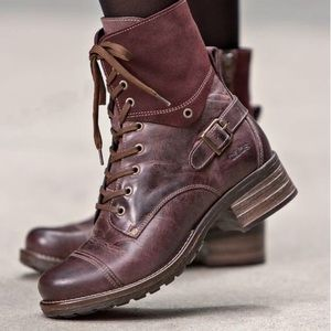 TAOS CRAVE BOOT BORDEAUX sz 5.5 (US)